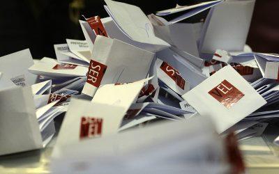 Histórica jornada de votaciones se vivió el domingo con un amplio triunfo del Apruebo y Convención Constitucional