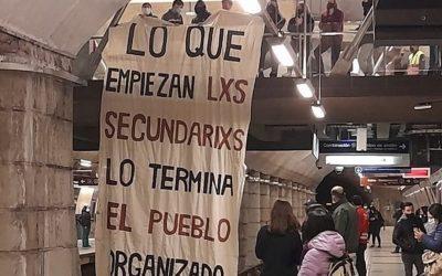 Un año del alza de los $30 pesos del Metro de Santiago