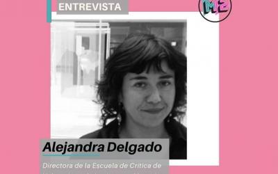 Alejandra Delgado, directora Escuela de Crítica Valparaíso: «Los medios de comunicación no están abordando la formación de público»
