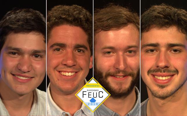 «Ellos son los candidatos a presidente de la Feuc 2016» un artículo de KmCero