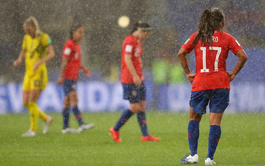 La Selección chilena femenina de fútbol cayó ante Suecia en su debut en la Copa del Mundo