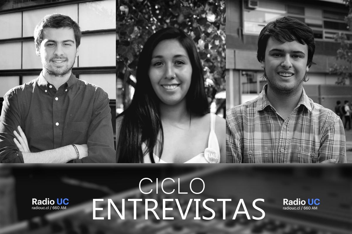 Ronda de entrevistas: candidatos a presidente FEUC