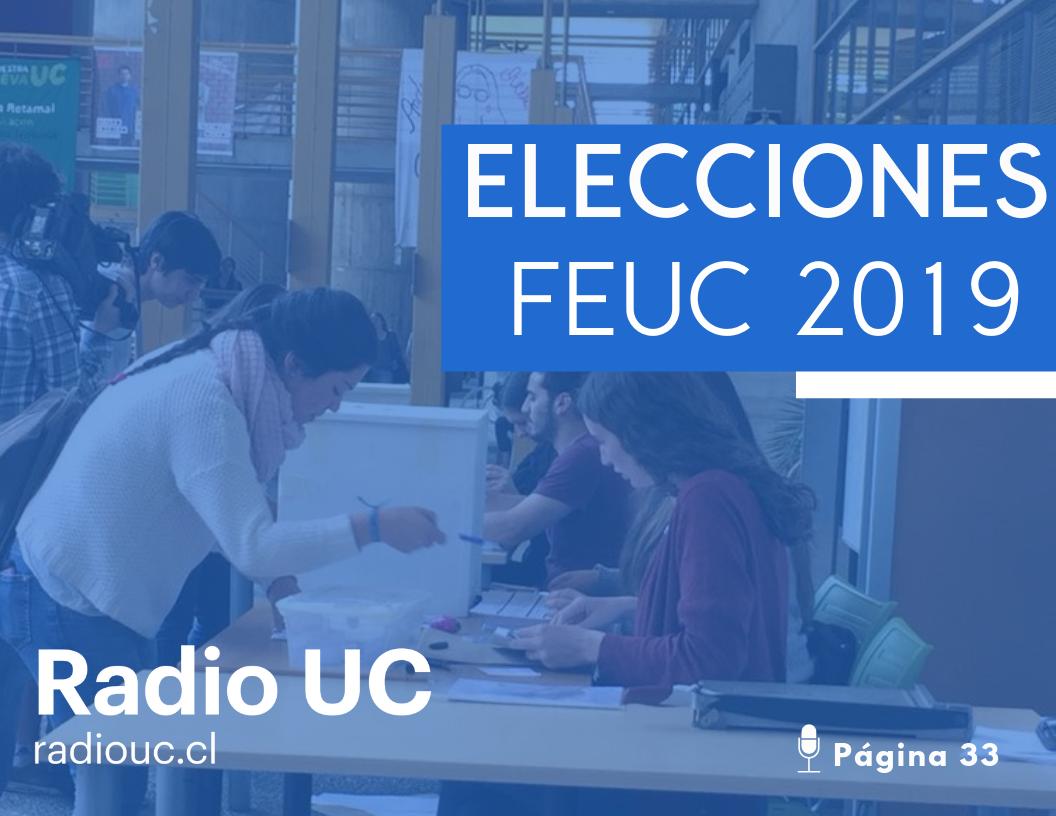 Sigue los debates en vivo: Especial elecciones FEUC 2019