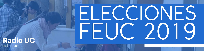 Elecciones FEUC 2019