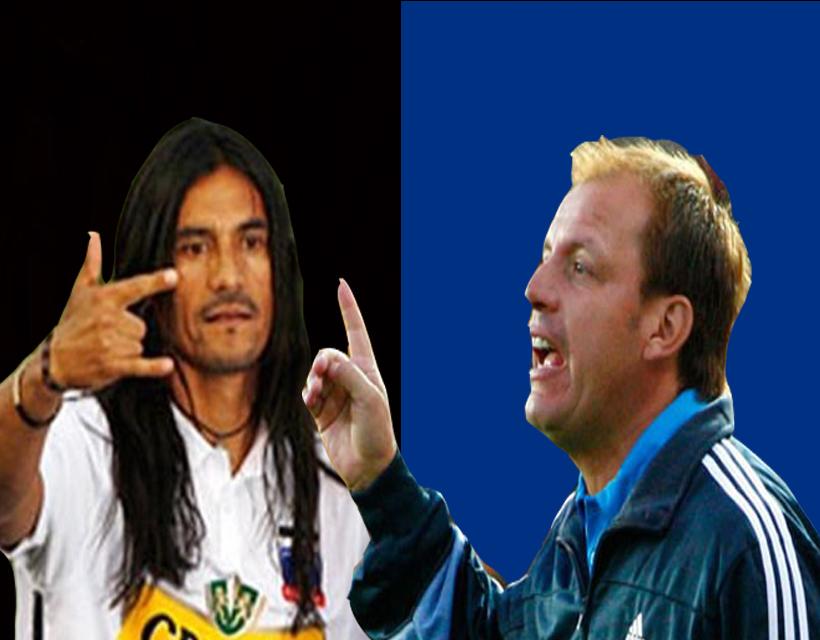 Enfrentamiento entre el azul Horacio Rivas y el albo Gabriel Mendoza