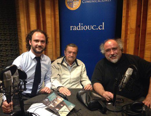 Andrés Rodríguez, Gerardo Urrutia y Víctor Alarcón
