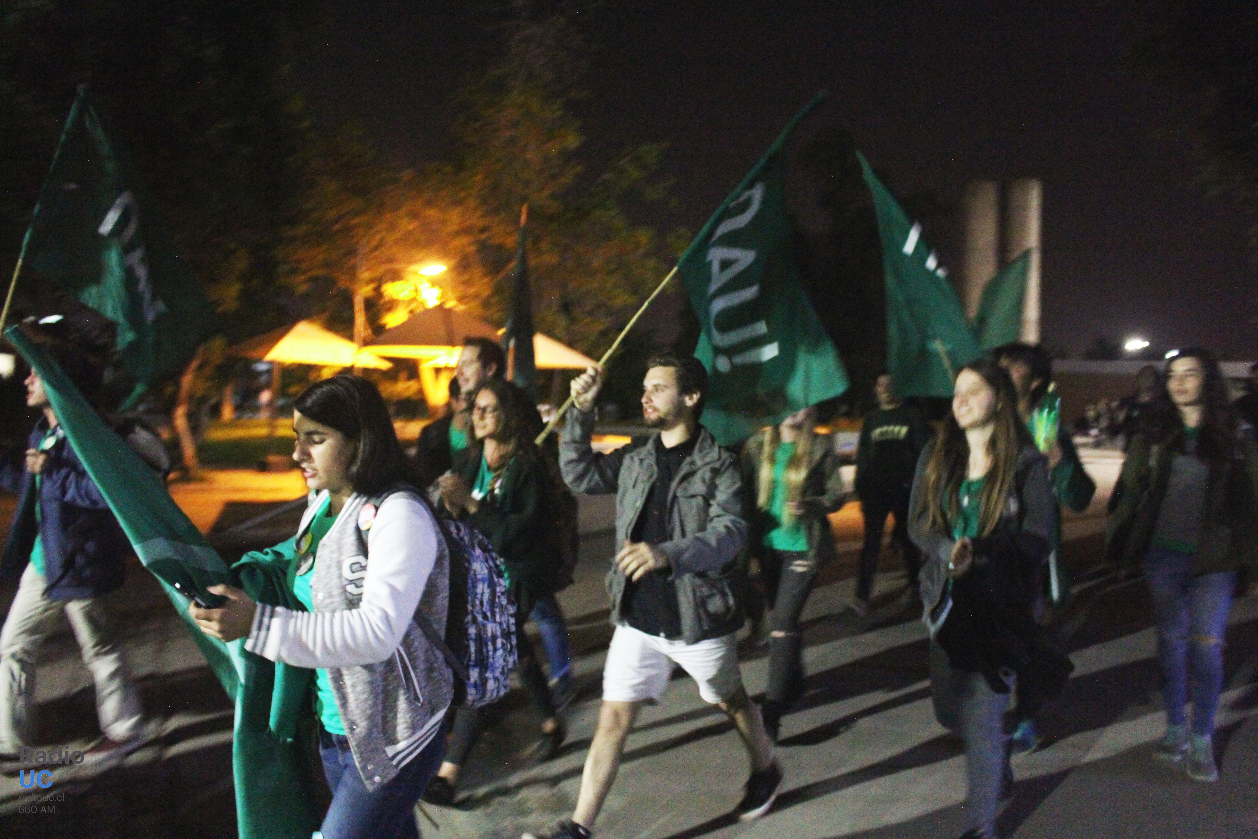 La Nueva Acción Universitaria y Solidaridad pasan a segunda vuelta