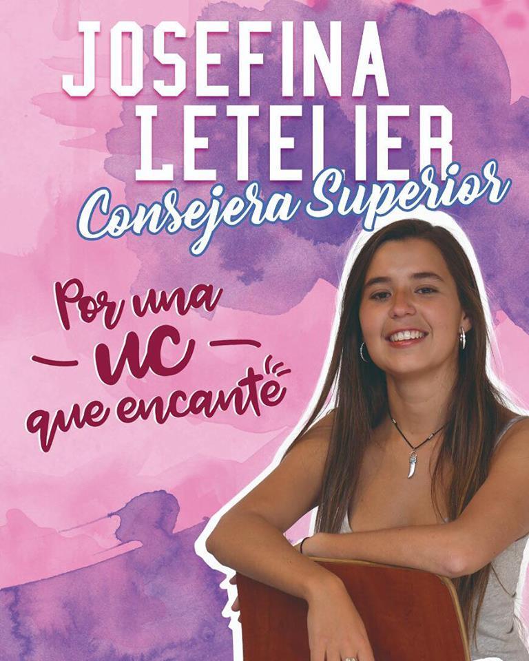 Consejería Superior: Josefina Letelier, por Avanzar