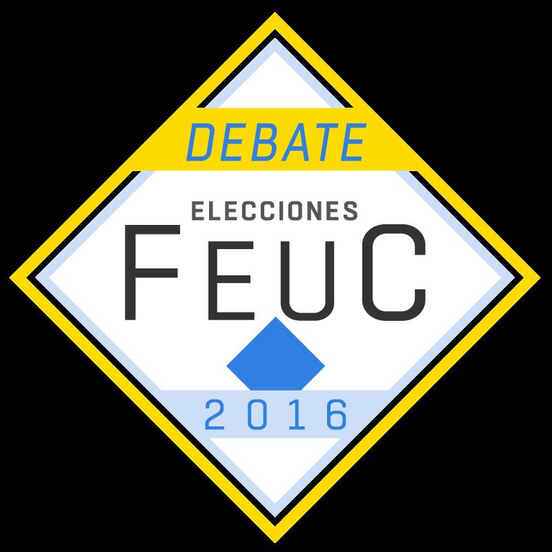 Sintoniza el Segundo Debate de las Elecciones FEUC 2016