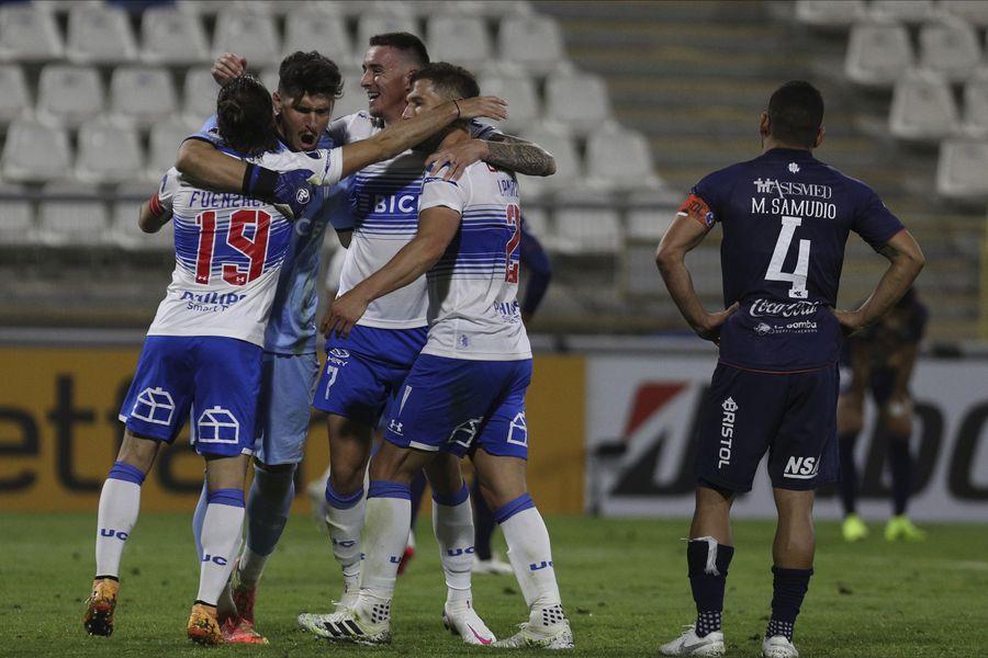 Doble representación: Católica y Coquimbo Unido se meten en los cuartos de final de Copa Sudamericana