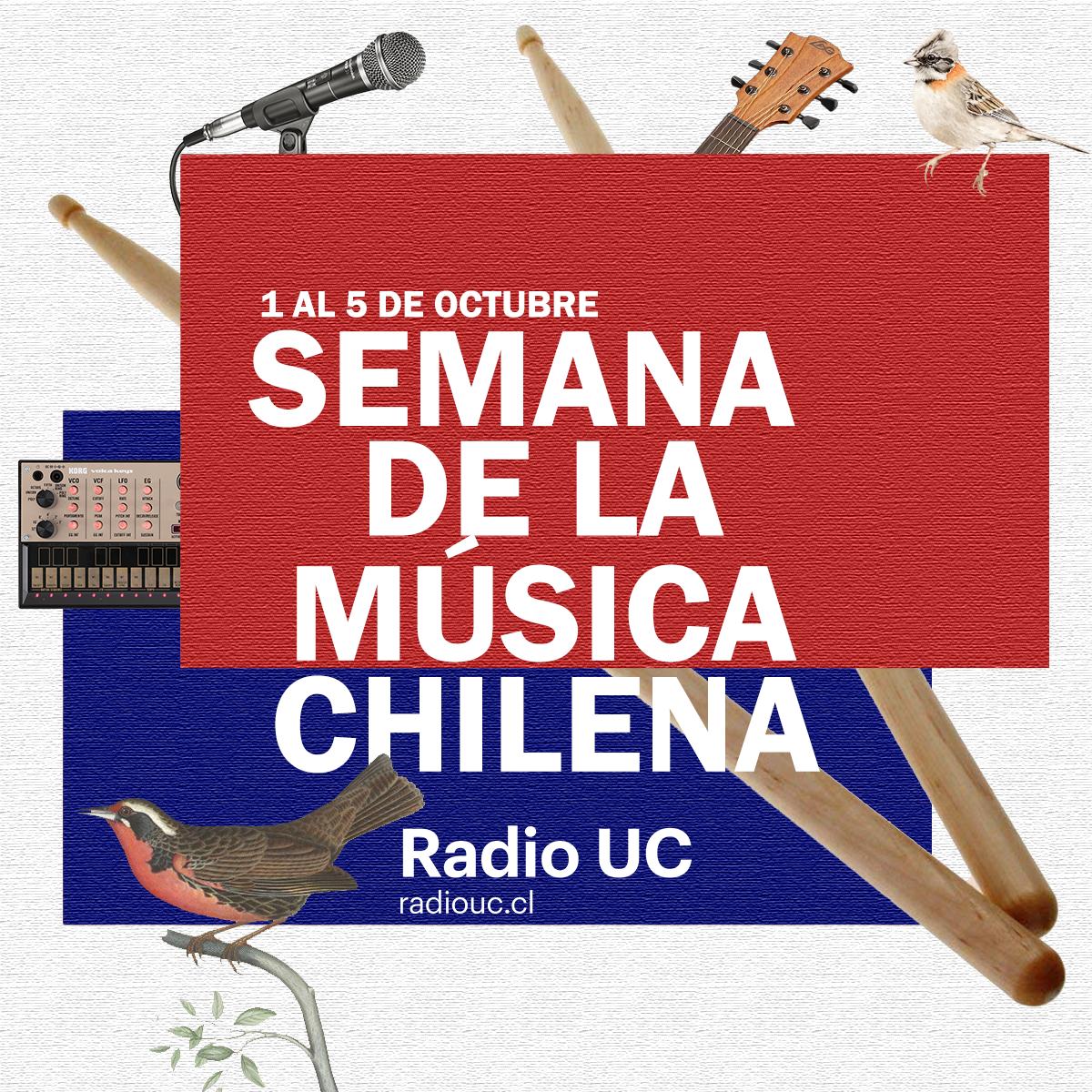 ¡No te pierdas la Semana de la Música Chilena en Radio UC!