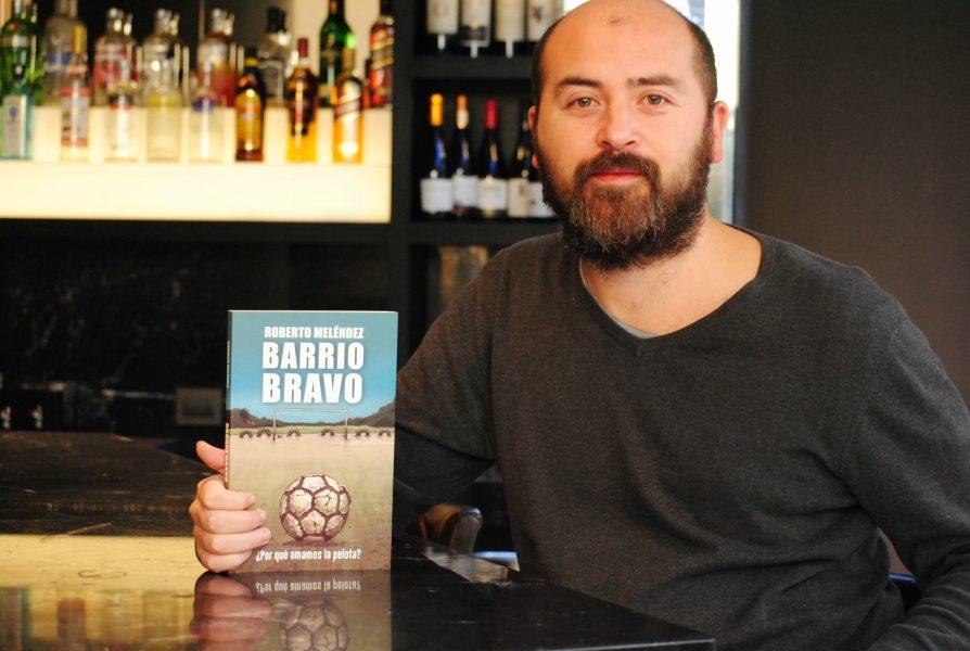 """Roberto Meléndez: """"Son movimientos expresivos, el fútbol tiene un aspecto muy salvaje y el arte igual"""""""