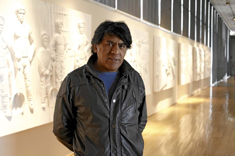 """Bernardo Oyarzún: """"Mi pretensión es visibilizar esa realidad que normalmente está marginada"""""""