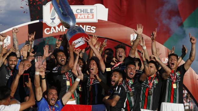 Campeón de la Copa Chile: Este título nos da una motivación extra para seguir en la división de honor