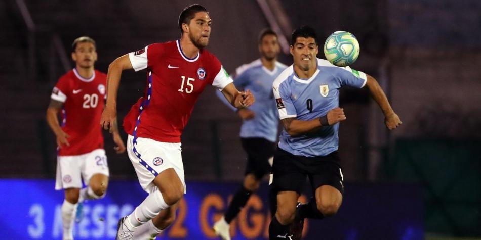 Polémica victoria de Uruguay ante Chile por el primer partido de las Eliminatorias de Qatar 2022