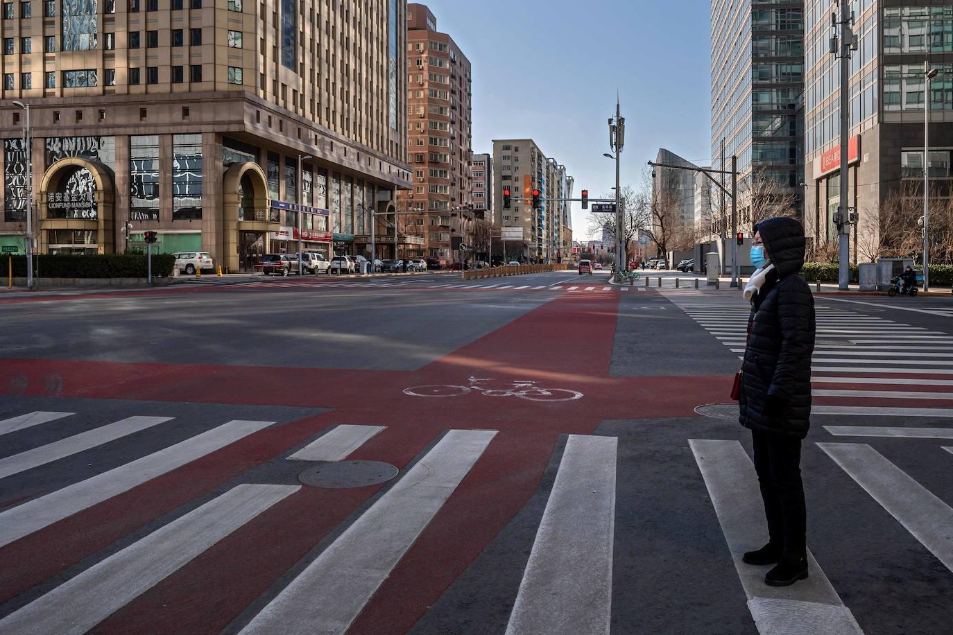 Calles sin gente