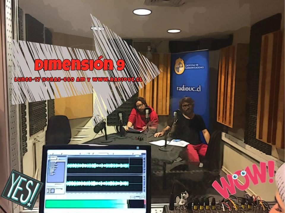 ¡La Dimensión 9 llega a Radio UC!