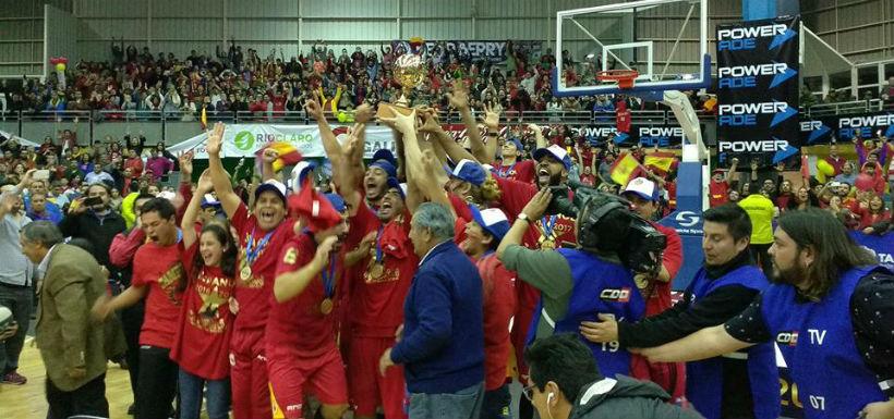Especial de básquet: ¡Español de Talca campeón por tercera vez!