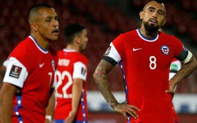 Chile cae 2-1 ante Venezuela en el Olímpico de Caracas